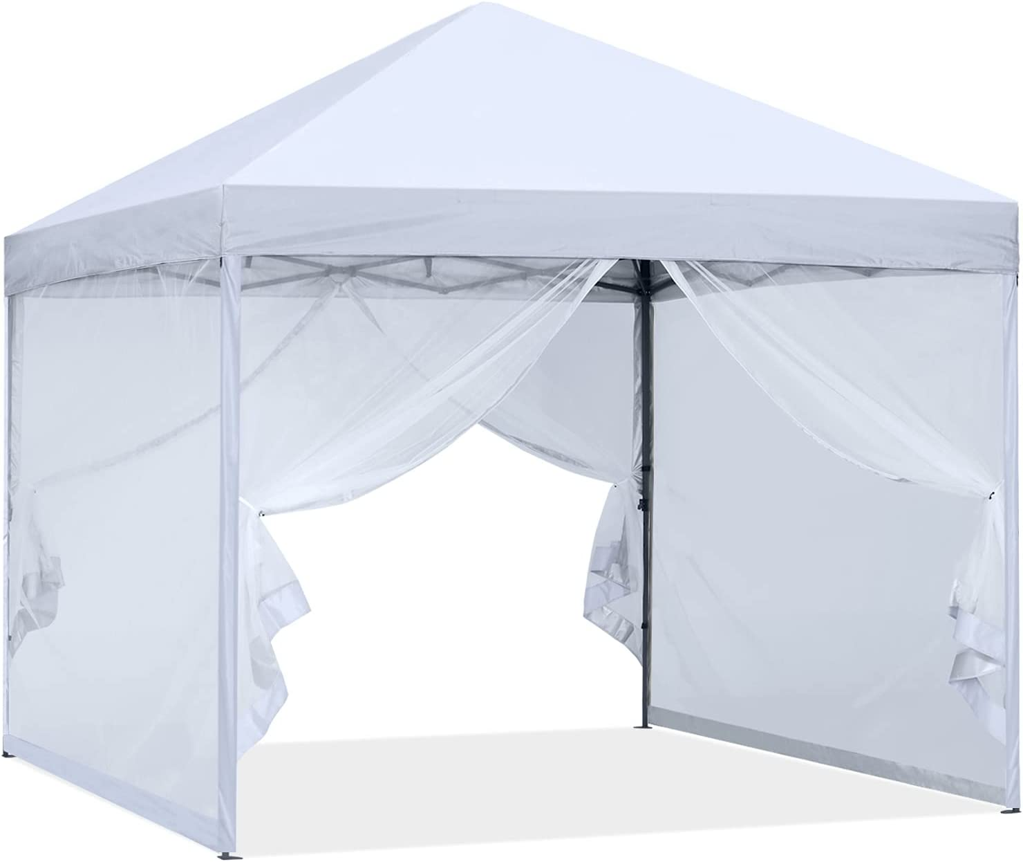 Sale price ABCCANOPY Outdoor Easy Pop up Canopy with Tent Superior Wall Netting Whi