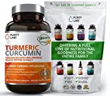 Organic Turmeric Curcumin Highest Quality and Potency Available - 95% Standardized Curcuminoids and Black Pepper Bioperine for Increased bioavailability - for Joint Mobility & Inflammation
