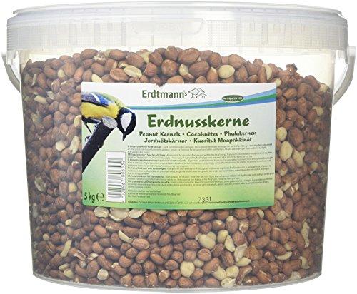 Erdtmanns Seau de Cacahuètes pour Oiseaux 5 Kg