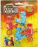 Tara Toys Rock Em Sock Em Mini Games 4ct