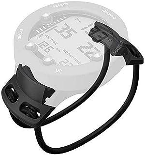 SUUNTO Unisex Zoop Novo Suunto Dive Zoop Novo/vyper Novo - zestaw adapterów Bungee, czarny, uniwersalny