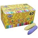 Art Straws AM552 40 Chunky chalks Coloured, Assorted