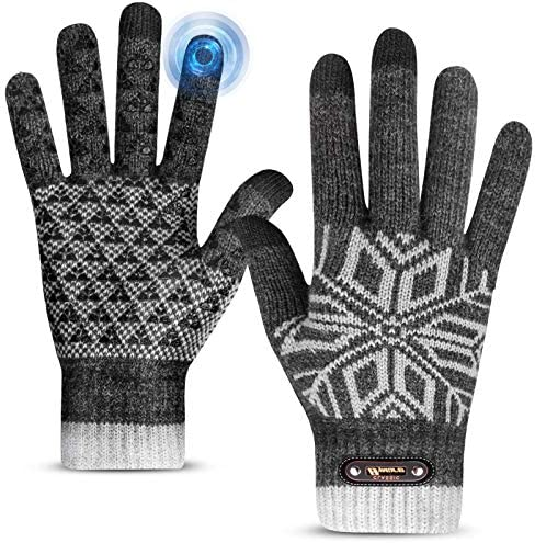 Winter Gloves Winter Gloves for Men and Women Touch Screen Gloves for Texting Thermal Gloves product image