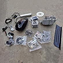 DONSP1986 2 Stroke Gas Bicycle Engine kit PK80 Unassembled Gas Motor Kit-Gas Motorized..