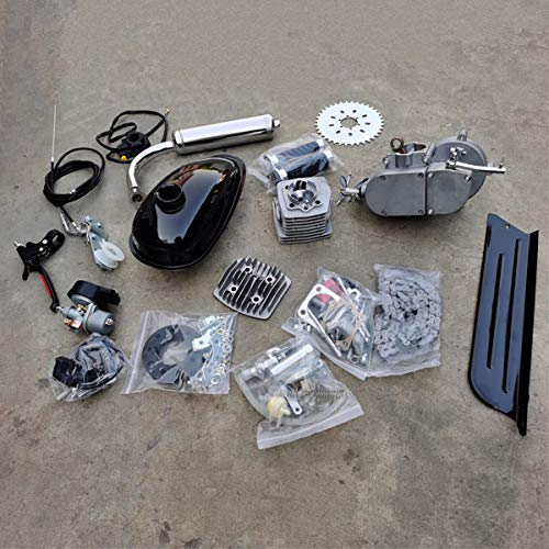 DONSP1986 2 Stroke Gas Bicycle Engine kit PK80 Unassembled Gas Motor Kit-Gas Motorized Bicycle 66cc/80cc