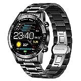 Die besten Smartwatches - LIGE Smartwatch Herren, Fitness Tracker 1.4 Voll Touchscreen Bewertungen