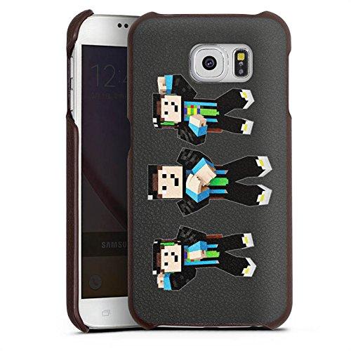 DeinDesign Samsung Galaxy S6 Lederhülle Leder Case Leder Handyhülle Gommehd Fan Article Merchandise Fanartikel Merchandise