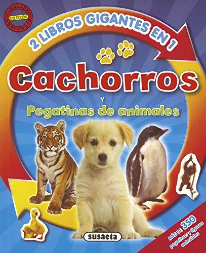 Cachorros - Pegatinas de animales (Giralibro)
