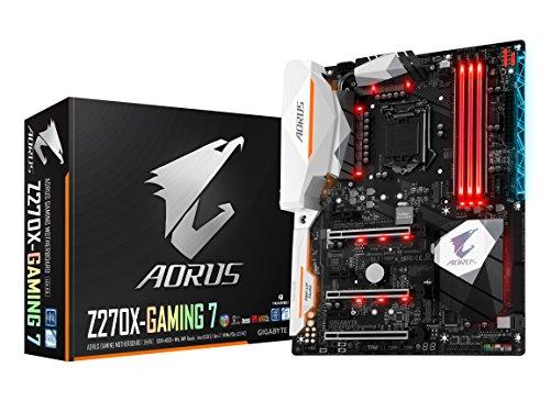 GIGABYTE AORUS GA-Z270X-Gaming 7 Gaming Motherboard LGA1151 Intel Z270 2-Way SLI ATX DDR4 Motherboard