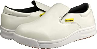DDTX Zapatos de Seguridad Unisex SB Punta compuesta SRC Antiresbalones Antiest/ático Zapatos de Cocina S2 Negro 38-47EU