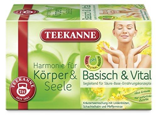 Teekanne Basisch und Vital Harmonie für Körper und Seele 5er Pack