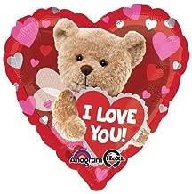 Anagram 29876 I Love You Bee Bear Foil Balloon 18