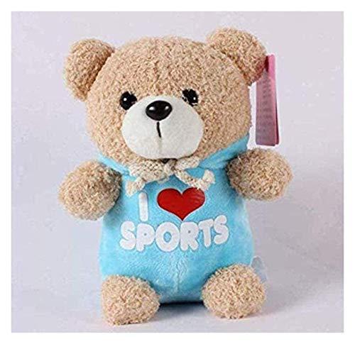 WYYHYPY Oso de peluche Ted de peluche muñeca de peluche en peluche de peluche suave s juguetes de muñeca regalos para niños 23cm dedu oso