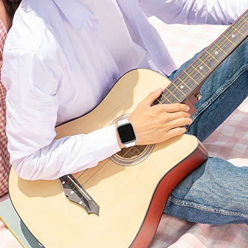 FRESHCLOUDコンパチブルAppleWatchバンド38mm40mm42mm44mmアップルウォッチバンドiwatchバンドスポーツバンド交換ベルトシリコン素材applewatchseries7/6/5/4/3/2/1/SE対応2020年秋