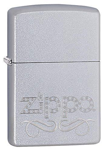 Zippo 60000857 Stamp, Laiton, Chromé Brossé, 3,5x1x5,5 cm