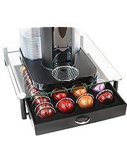 DecoBros Nespresso Vertuoline bewaardoos voor capsules van kristalglas