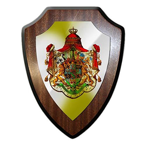 Wappenschild Königreich Sachsen Kurfürstentum Wappen Dekoration Heimat #32325