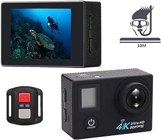 IKOWT Cámara De Acción 4K WiFi Sports Ultra HD Videocámara DV Resistente Al Agua 12MP 170 Grados Gran Angular