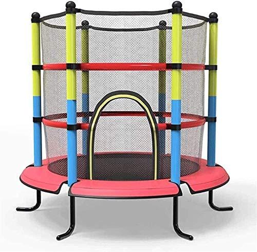Lamyanran Trampolin Brincolin para Niños y Adultos Niños para niños en Interiores y al Aire Libre con la Red de Guardia Saltando Trampoline Gym Equipment Niños Adulto General Regalo