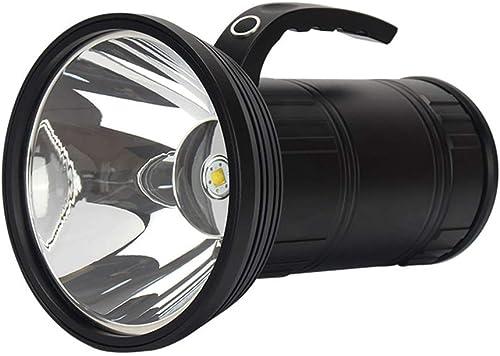 QYYsdt Projecteur Extérieur , Lanternes De La Torche Projecteur Portatif à LED De Poche Portatif Extérieur USB en Charge 500W De Camping Gamme De Sauvetage 1 000 Mètres