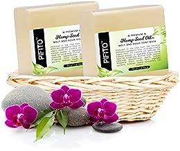 Pifito Hemp Seed Oil Melt and Pour Soap Base (5 lb) │ Bulk Premium 100% Natural Glycerin Soap Base │ Luxurious Soap Making Supplies