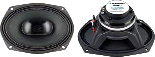 """$110 » Blaupunkt MPH69 6"""" x 9"""" Car Pro Full Range Coaxial Horn Speaker Waterproof Paper Cone with Cloth Surround 500 Watts"""