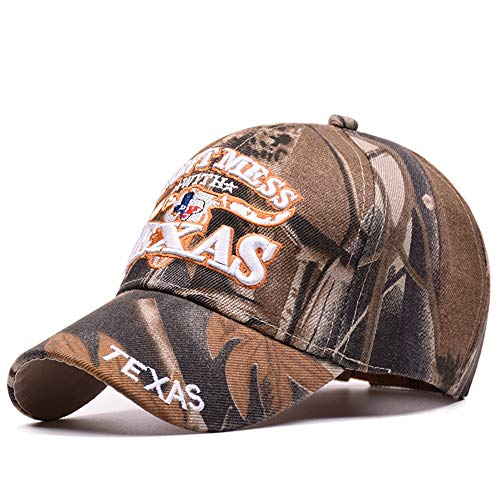 Baseball Caps Outdoor Sun Baseballmütze Texas Buchstaben Bestickte Hüte Camouflage Hysteresenkappe Für Männer Frauen Paar Sport Hüte