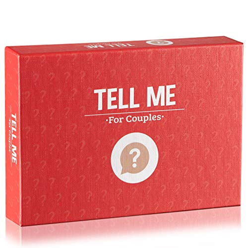 Card Game for Couples – Tell Me for Couples - 100+ Conversation Starters - Valentines Day Gifts – Easy Rules – Relationship Games for Couples
