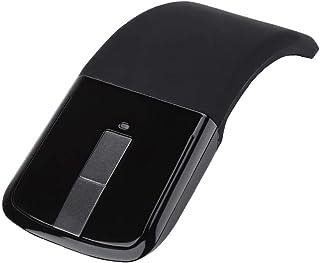 Dpofirs Ratón Inalámbrico Ergonómico,Mouse Aplanamiento Plegable,Bajo Ruido Inalámbrico ARC Mouse Touch Universal,Alta Sen...