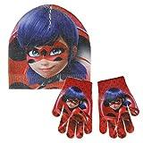 Cerdá 2200002575 Set de bufanda, gorro y guantes, Rojo (Rojo 001), One Size (Tamaño del fabricante:Única) para Niños