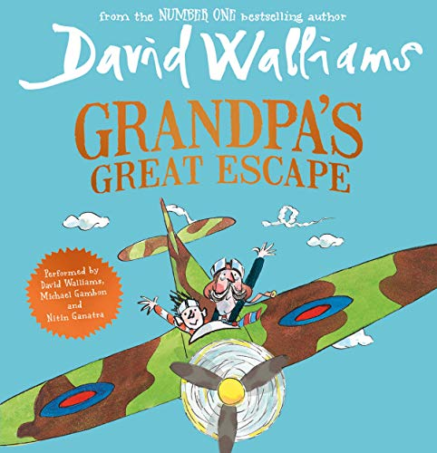 Grandpa's Great Escape                   By:                                                                                                                                 David Walliams                               Narrated by:                                                                                                                                 David Walliams,                                                                                        Nitin Ganatra,                                                                                        Michael Gambon                      Length: 5 hrs and 49 mins     821 ratings     Overall 4.7