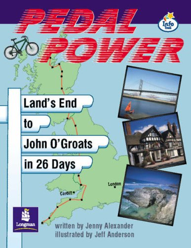 LILA:IT:Independent:Pedal Power Lands End to John O\'Groats Info Trail Independent (LITERACY LAND)