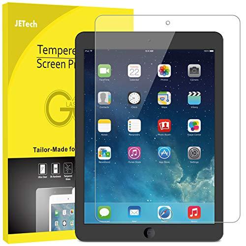 JETech Screen Protector for iPad (9.7-Inch, 2018/2017 Model, 6th/5th Generation), iPad Air 1, iPad Air 2, iPad Pro 9.7…