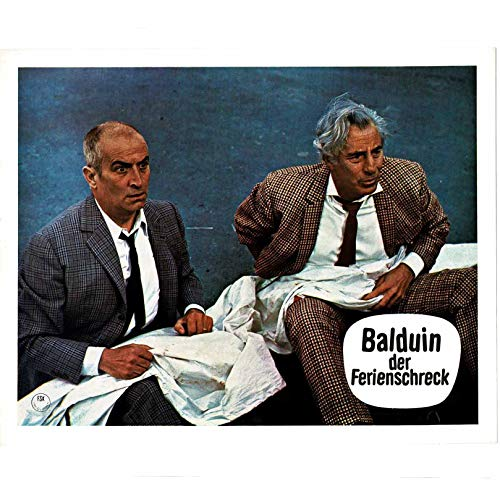Balduin der Ferienschreck - Louis De Funes - 20 Aushangfotos - 24x30cm (370)