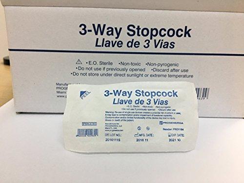 3 Three Way Stopcock sterile luerlock (10)
