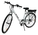 Elektrofahrrad EX1, 250 Watt, 25 km/h, 27,5 Zoll, 36V/10Ah Lithium-Ionen-Akku Damen E-Bike Fahrrad Pedelec