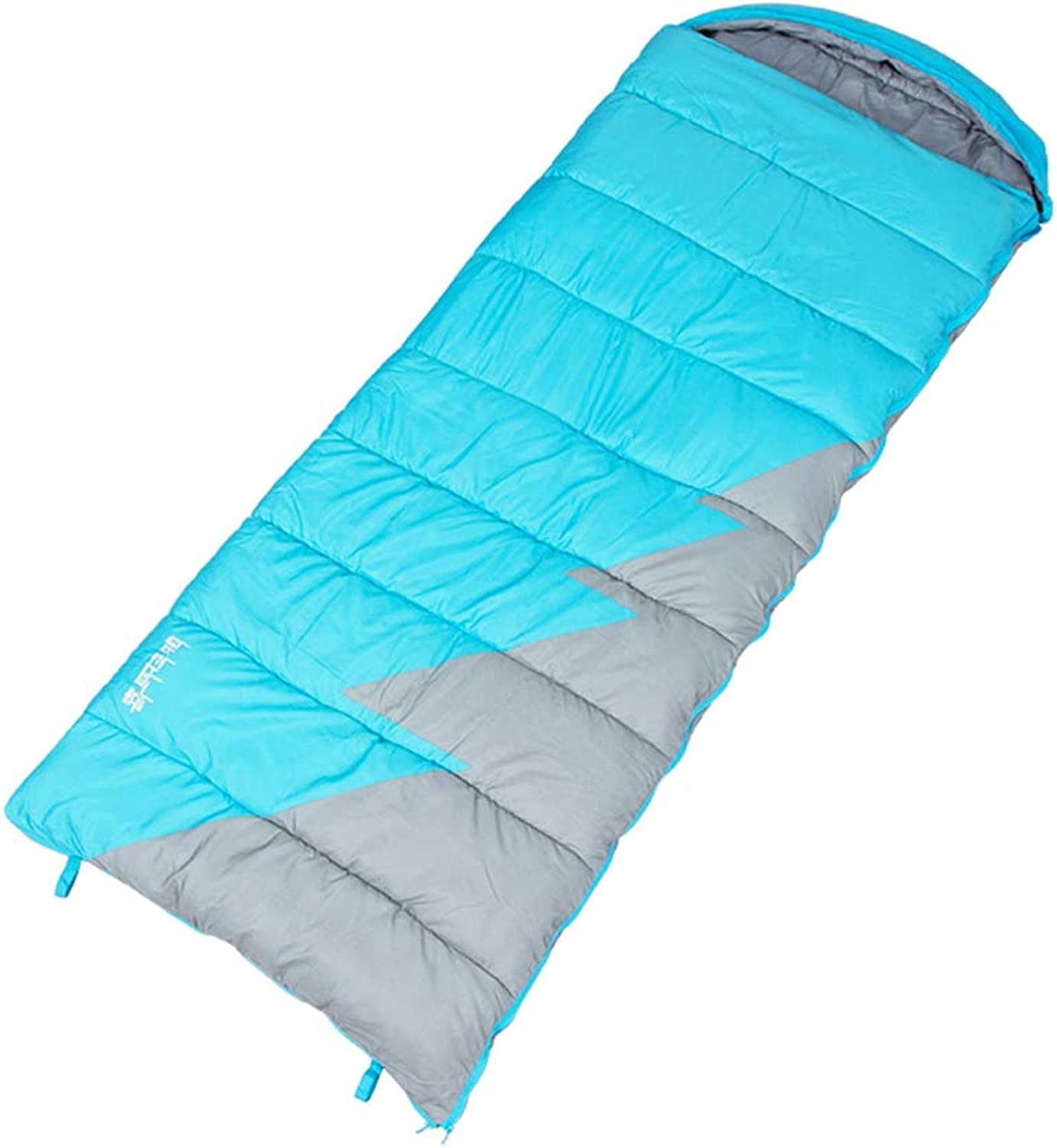Sleeping Bag, Warm Comfortable Sleep Sack Lightweight Portable Single,Double Camping Sleep Bags Great for When It's Cold Outdoors,B,450g