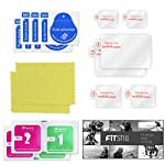 [6 pcs] fitstill screen protector for gopro hero 8 black, ultra clear tempered glass screen protector + tempered glass… 9 【life-time warranty】 life-time warranty from fitstill and 90 days money back guarantee 【secifically design】 compatible with gopro hero8 black action camera only. 【high-transparency】it provides you high-definition clear viewing. Hydrophobic oleophobic screen coating protects your camera screen against sweat and oil residue from fingerprints and keeps high-sensitivity touch response.