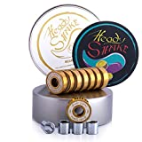 Heady Shake Pro Skateboard Bearings - Fastest Premium 608rs Titanium -...