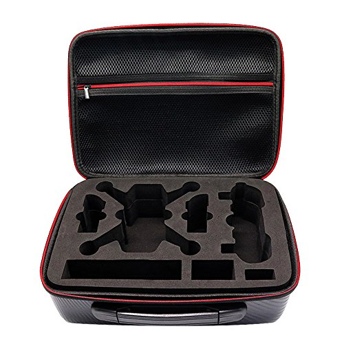 Vococal Housse de Transport pour DJI Spark Étui pour Portable étui de portatif Sac étui de portatif Boite pour Batteries et Accessoires.