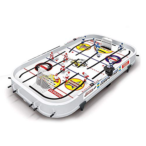 Best Price! Bysoru Rod Hockey Table Game Tabletop Game for Boys Mini Rod Hockey Table Top Accessorie...