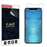 """JD 8 Pack iPhone XR 6.1"""" Schermo Protettivo, [Non Piena Copertura] Premium HD Chiara Pellicola Difesa Protettore per iPhone XR 6.1 inch - [Non Compatibile con iPhone X/XS/XS Max]"""