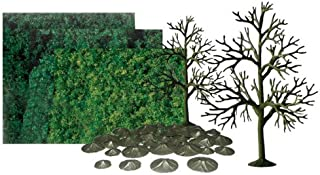 "JTT Scenery Products Super Scenic Series: Deciduous Tree Kit, 6"" Height"