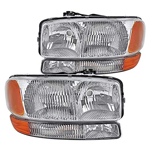 02 gmc sierra headlight assembly - 1