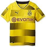 PUMA 1a Equipación 19/20 Borussia Dortmund Replica con Sponsor Logo Camiseta, Hombre, Amarillo, XL