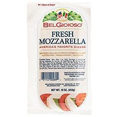 Origin: United States Milk Type: Cow Yes 1 pound log of fresh mozzarella Easy portioning for caprese salad, lasagna or baked ziti