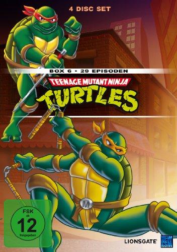 Teenage Mutant Ninja Turtles - Box 6 (Episode 140-168) [4 DVDs]