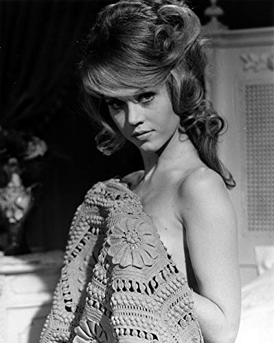 Posterazzi DAP18611 Jane Fonda – Bezug mit Handtuch, Fotodruck, 20 x 25 cm, mehrfarbig