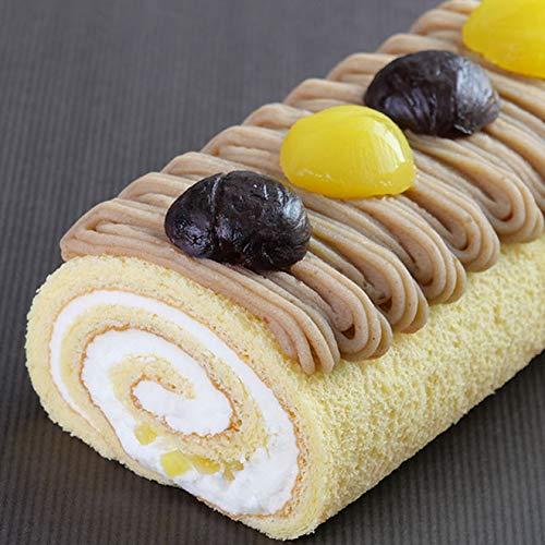 ロールケーキ モンブラン マロンケーキ
