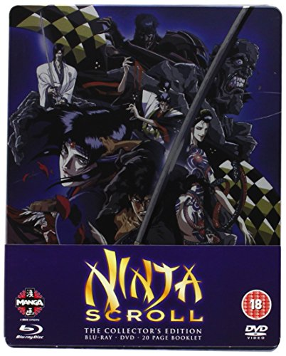 Ninja Scroll Blu-Ray/DVD Steelbook [Edizione: Regno Unito] [Import]